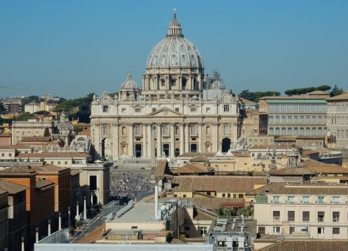 Excursão ao Vaticano, Museus, Capela Sistina e Basílica de São Pedro. Roma, Itália