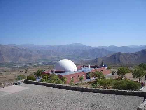 Visita Observatorio Mamalluca. La Serena, CHILE